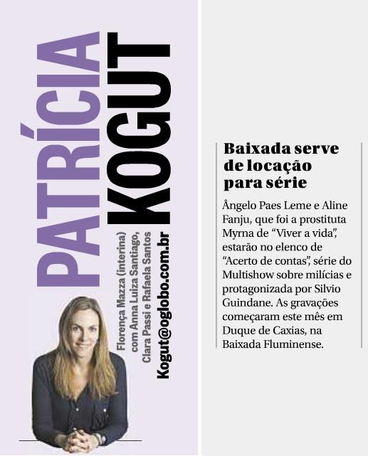 Aline Fanju - Revista da TV 28 10 2013